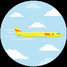 DHL transportuje vaš uzorak