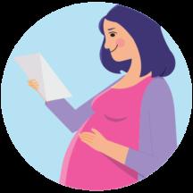 Trudnica sa rezultatima prenatalnog testa