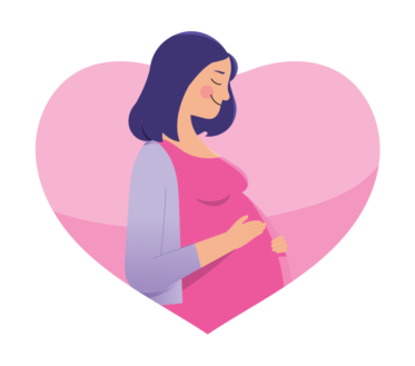 Žena očekuje bebu