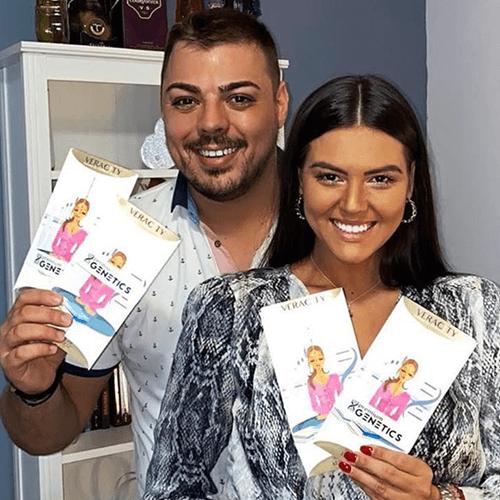 Slobodan Vasić i Jelena Karagić